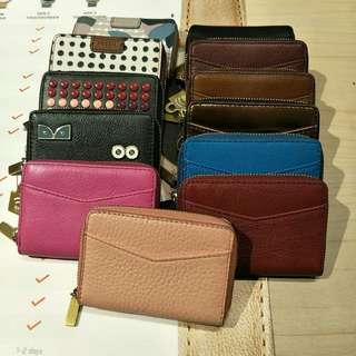 💯Fossil mini tab wallet