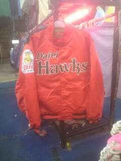 Varsity jacket RAWLINGS (Daiei Hawks) size fit M/L