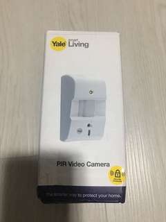 Bnib Yale PIR video cam
