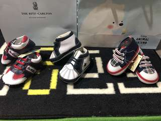 New Assorted baby boy and girl prewalker shoes