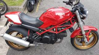 Ducati Monster 400cc 2001