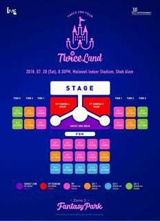 WTB TWICELAND TICKET