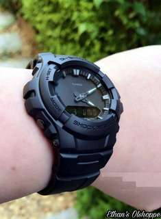 GSHOCK G100 MATTE BLACK