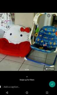 all rm 150 fisher Price swing and sofa