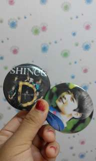 Button Badge Shinee