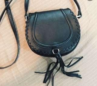 F21 Black Sling Bag