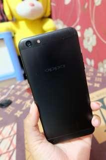 Oppo F3 hitam 4/64Gb