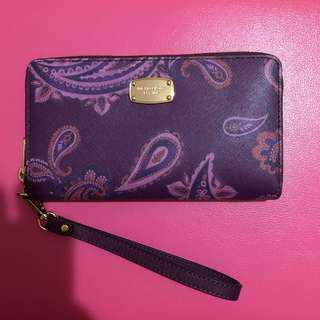 Michael Kors Purple Wallet 全新 MK 紫色 銀包