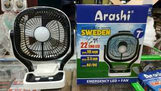"KIPAS EMERGENCY ARASHI SWEDEN 7"" RECHARGEABLE"