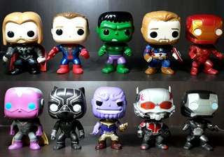 Marvel's Avengers: Infinity War FUNKO POP TOYS 10-piece set