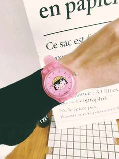 小丸子手錶,三款,全新未拆封