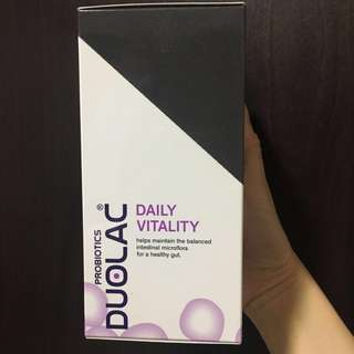 Brand new & sealed Duolac Probiotics Daily Vitality