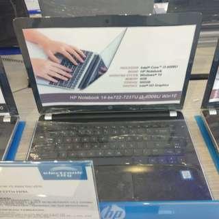 Laptop HP core i3 new bisa kredit tanpa kartu kredit