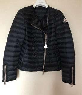 Moncler Jacket 黑色薄羽絨 0號