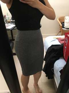 H&M stretchy skirt xsmall