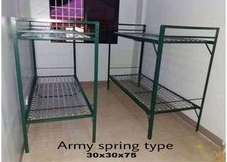 military bed doubledeck frame