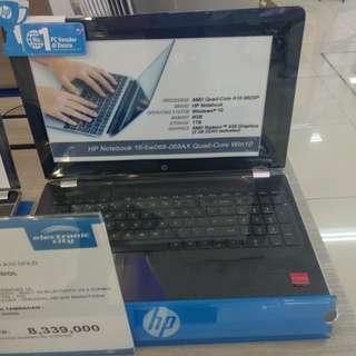 Laptop HP new Bisa kredit Murah Cicilan tanpa kartu kredit