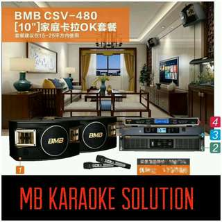 BMB CSV-480 FULL KARAOKE PACKAGE