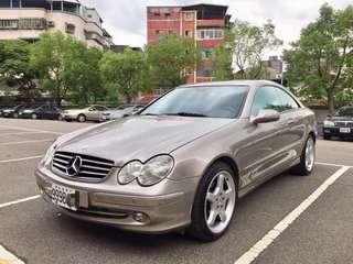 極致經典優雅Benz CLK240可分期輕鬆擁有