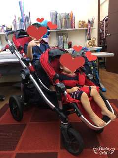 Baby Jogger City Select Twin Stroller