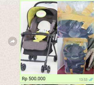 Preloved stroller, babywalker