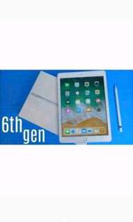 Apple iPad 6 32GB Wi-Fi Gold Cicil Tanpa CC