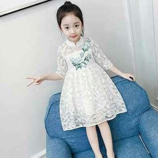 🌼Korean Kids Lace Dress
