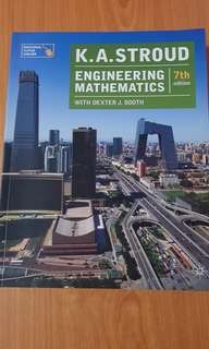 Engineering Mathematics 7th Edition by KA Stroud