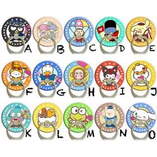 Sanrio卡通電話指環