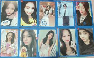 Twice what is love 子瑜 tzuyu 小卡 set