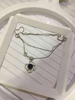 18寸 银项链