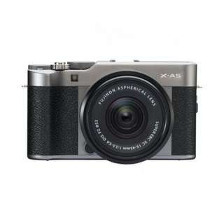 Fujifilm X-A5 Mirrorless Digital with 15-45mm dark Kredit Low Dp