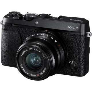 Kredit Fujifilm X-E3 with 23mm F2 Proses Cepat