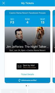 Jim Jefferies: The Night Talker Tour