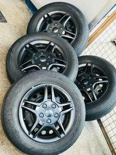 Mirage G4 Bridgestone Tires