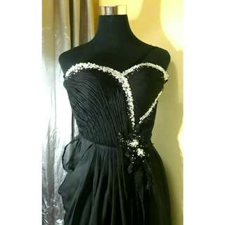 [FOR RENT & RETAIL] Black Ball/ Long Gown for Rent