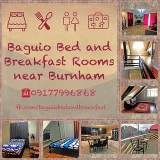 Baguio bed and breakfast near Burnham Park
