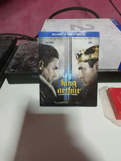 🚚 King arthur blu ray