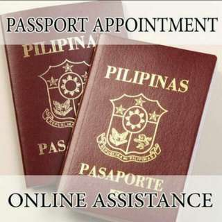 online passport appointment