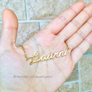 Stainless Steel Custom Name Necklace