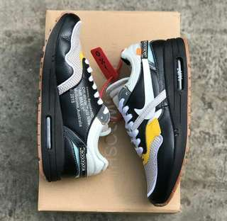Nike air max 1 off white PREMIUM BNIB 100%%%