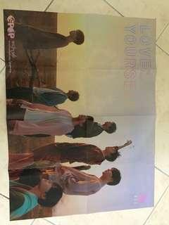 BTS Love Yourself Tear Y Ver Poster