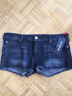NWT True Religion Jean Shorts
