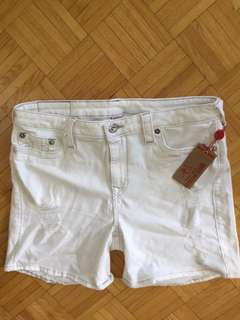 NWT True Religion High-Rise Bermuda Shorts