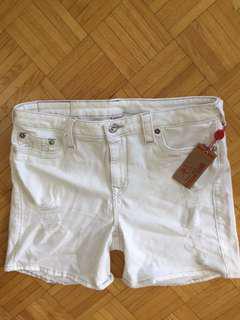 NWT True Religion High-Rise Bermuda Shorts