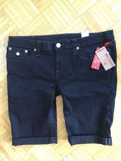 NWT Super Stretch True Religion Shorts
