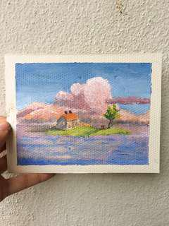ORIGINAL Spirited Away Postcard
