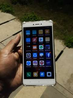 Xiaomi Redmi Note 4 3/32 Snapdragon, Hp Only, Mulus 99% Like New, no Minus...