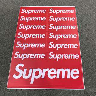 A99 Supreme - Luggage/ notebook/ guitar / laptop stickers