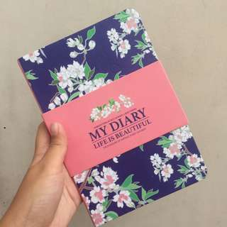 Floral Notebook/Journal